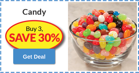 Candy Buy 3, SAVE 25%