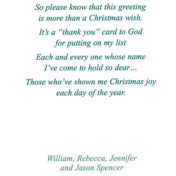 111 read reviews write a review read qa - Christmas Card List