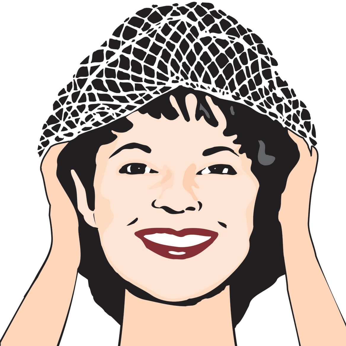 Black Hair Nets-302615