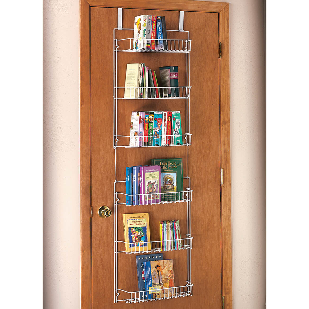 Over The Door Metal Storage Rack