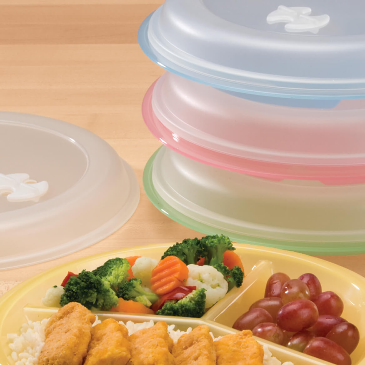 Divided Plates And Food Storage Containers-303973