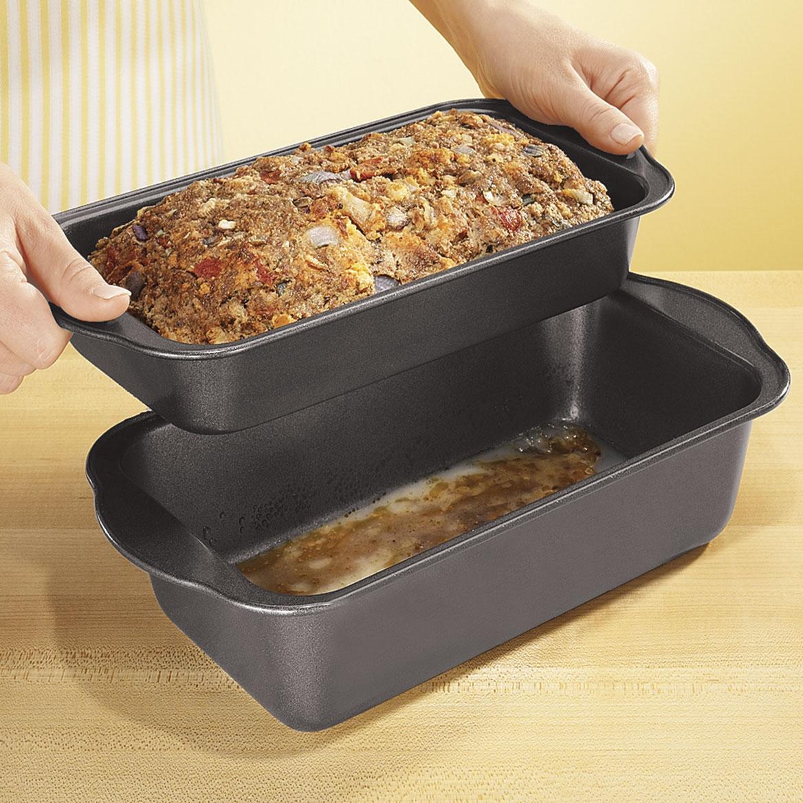 Lowfat Nonstick Meatloaf Pan Meatloaf Pan Walter Drake