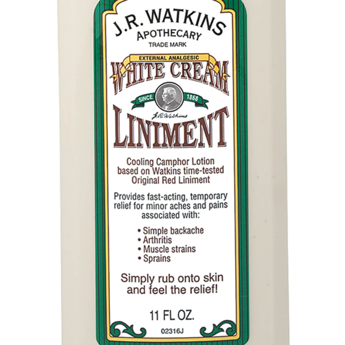 J R  Watkins™ White Cream Liniment