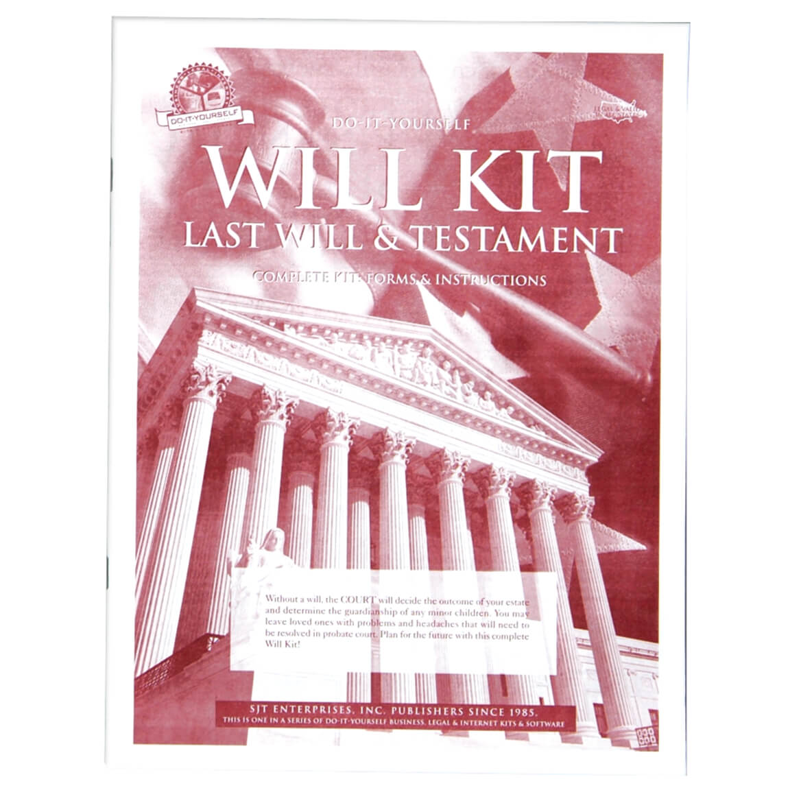 Do it yourself will kit last will and testament form walter drake do it yourself will kit solutioingenieria Gallery