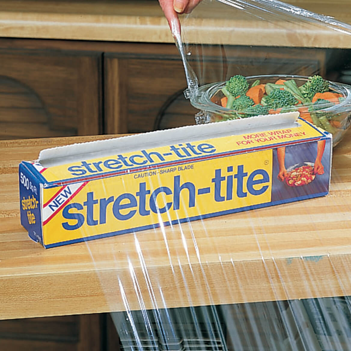 Stretch-Tite® Premium Plastic Food Wrap-310756