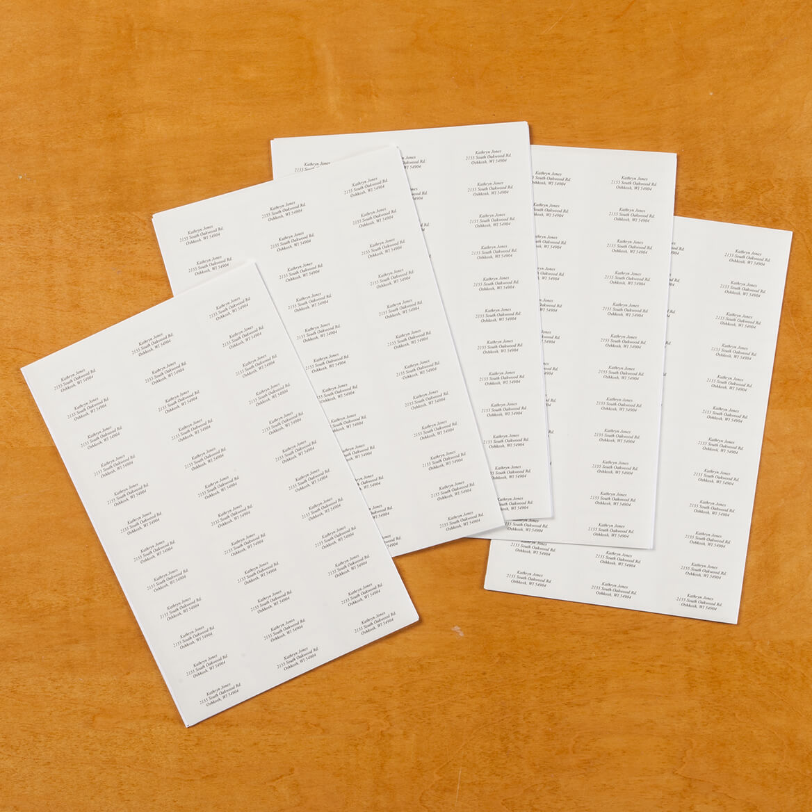 Personalized Script Labels Set/200-320114