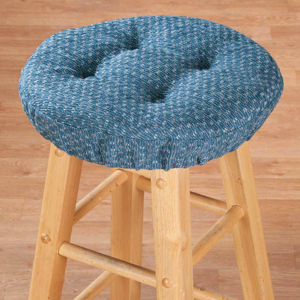 Raindrop Bar Stool Cushions - Bar Stool Cushion Covers Round ...