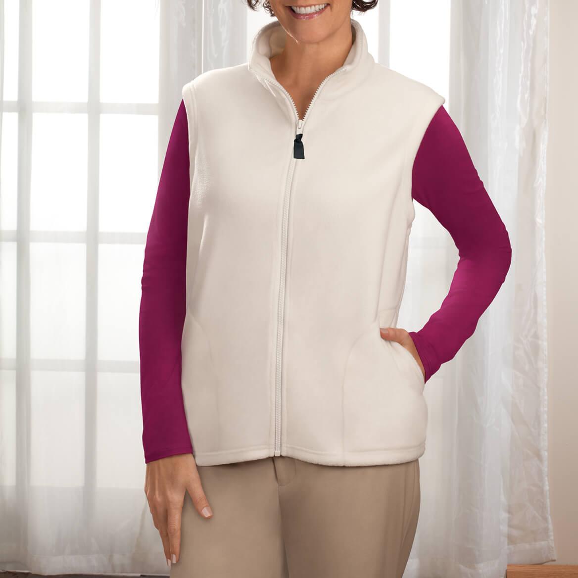 Micro Fleece Vest By Sawyer Creek Studio™-325818