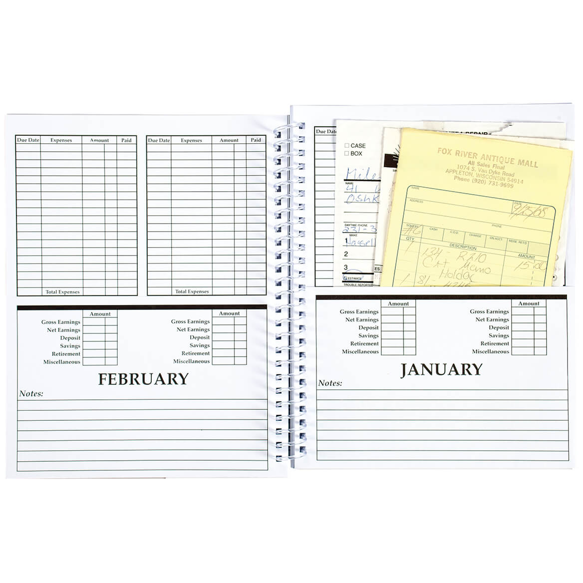 Monthly Bill Organizer-329662
