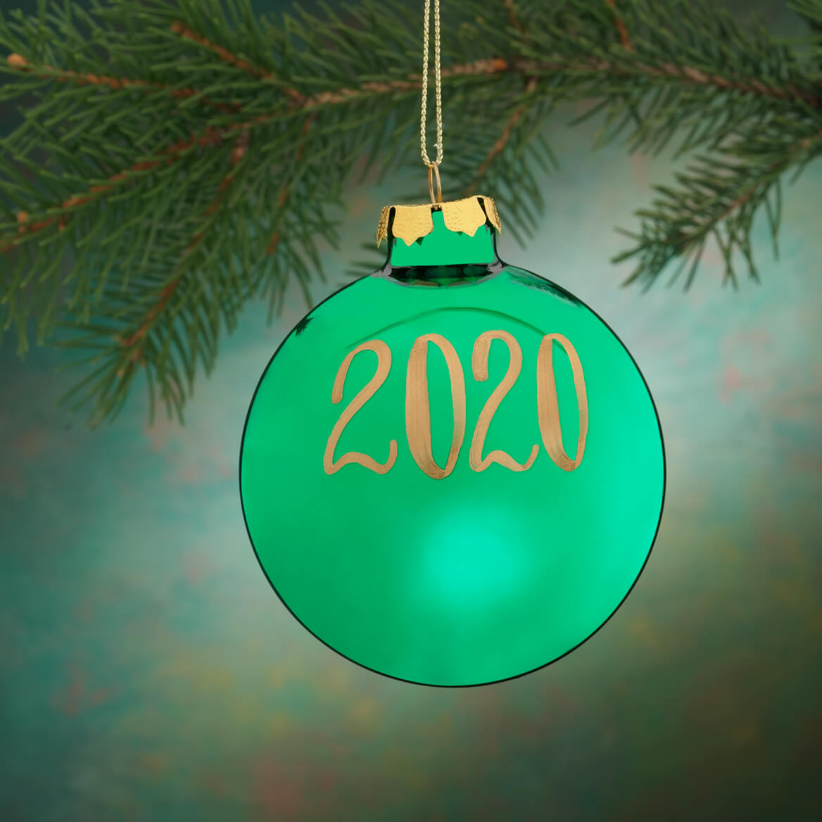 Personalized Name AND Date Painted Ornament-330370