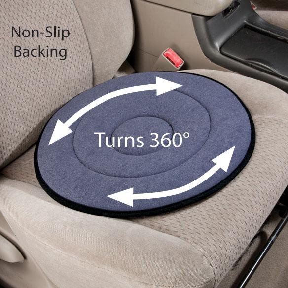 Swivel Car Seat >> Swivel Car Seat Swivel Seat Cushion Walter Drake