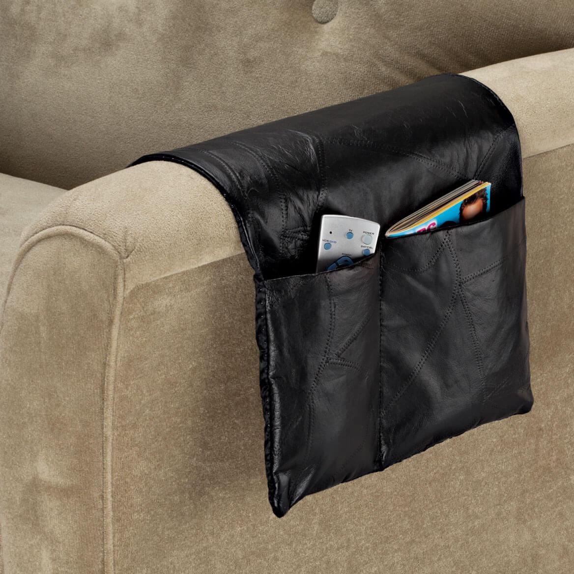 Leather Armrest Organizer-337164