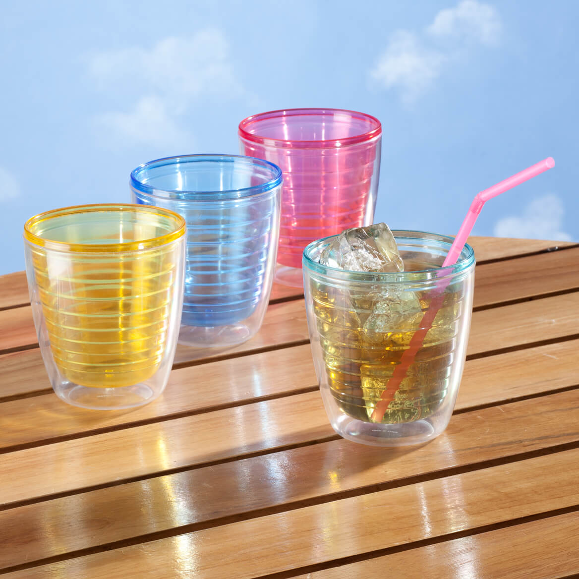Insulated Tumblers Set Of 4-344095