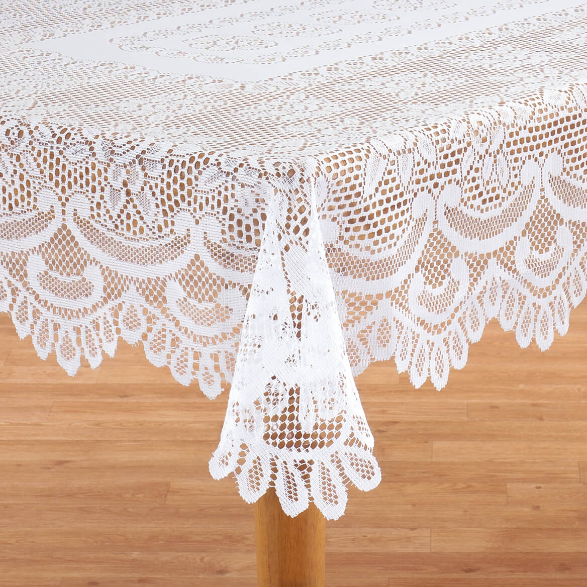 White Rose Lace Table Cloth Lace Tablecloth Walter Drake
