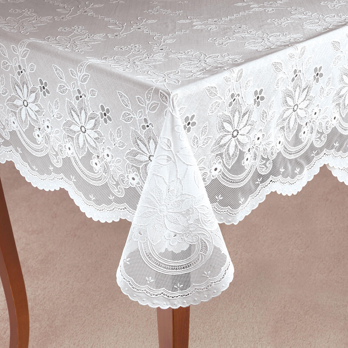 Vinyl Lace Tablecloth Vinyl Lace Tablecloth Walter Drake