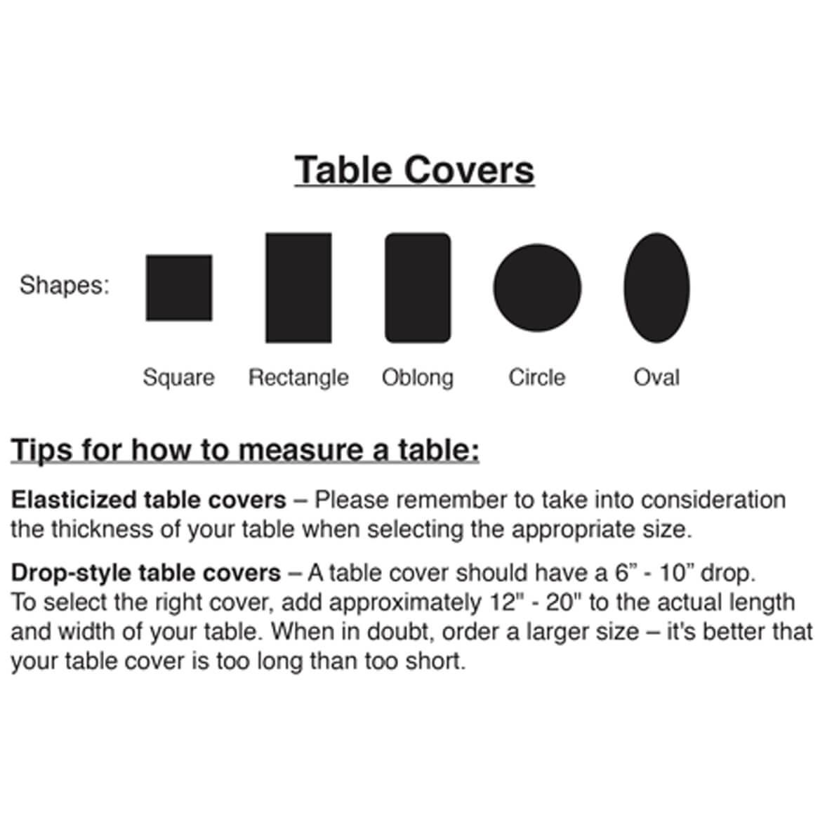 Microfiber Tablecloth-344570