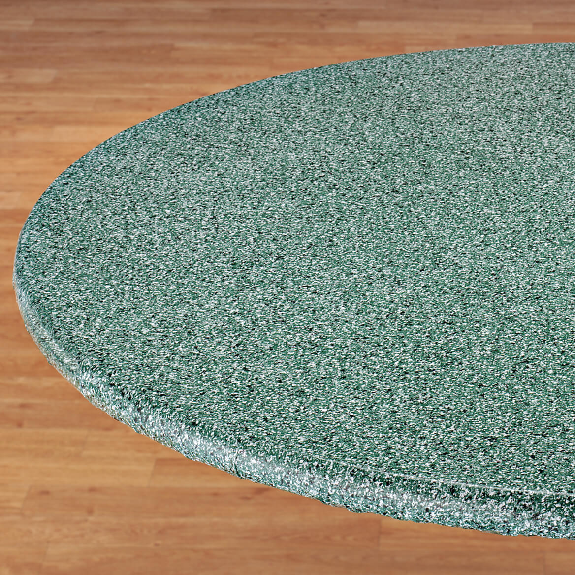Polished Granite Vinyl Fitted Table Cover