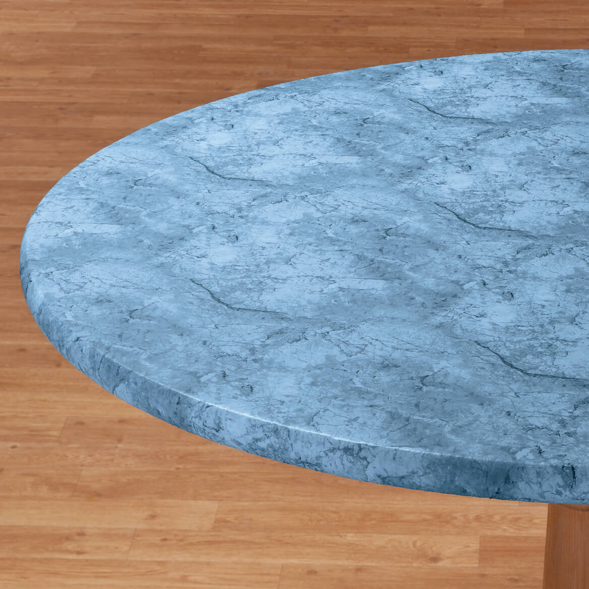 Marbled Elasticized Table Cover - Round Elastic Table Cover - Walter ...