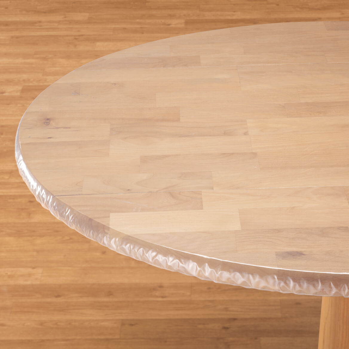 Clear Elasticized Table Cover Elasticized Table Cover Walter Drake