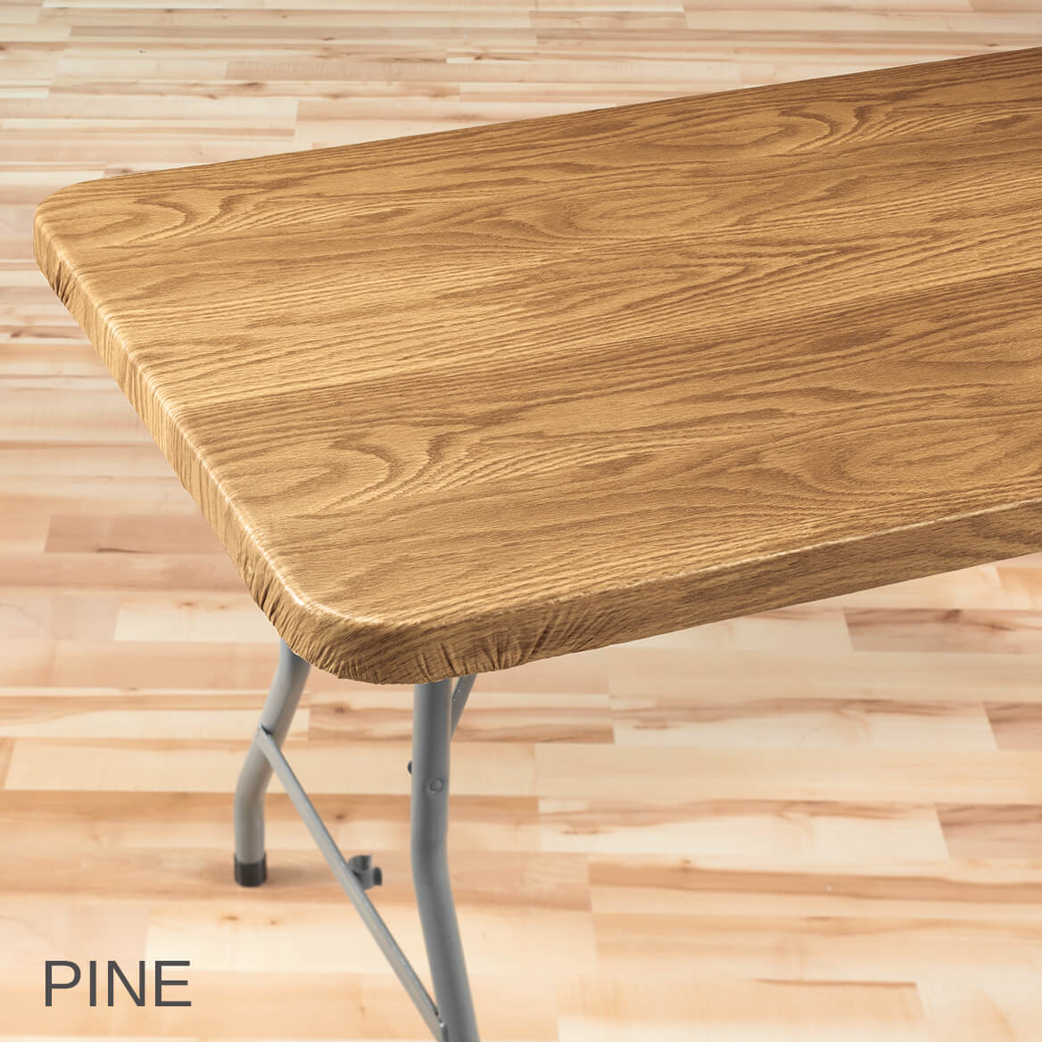 Walter Drake Fitted Plastic Rustic Table Covers