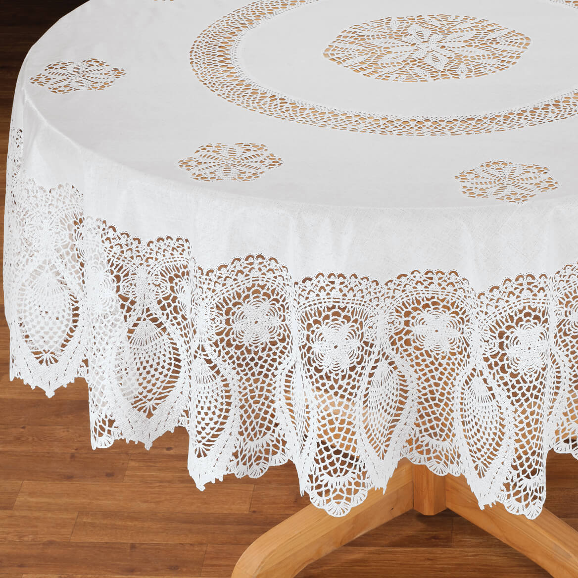 Vinyl Lace Tablecloth-344657