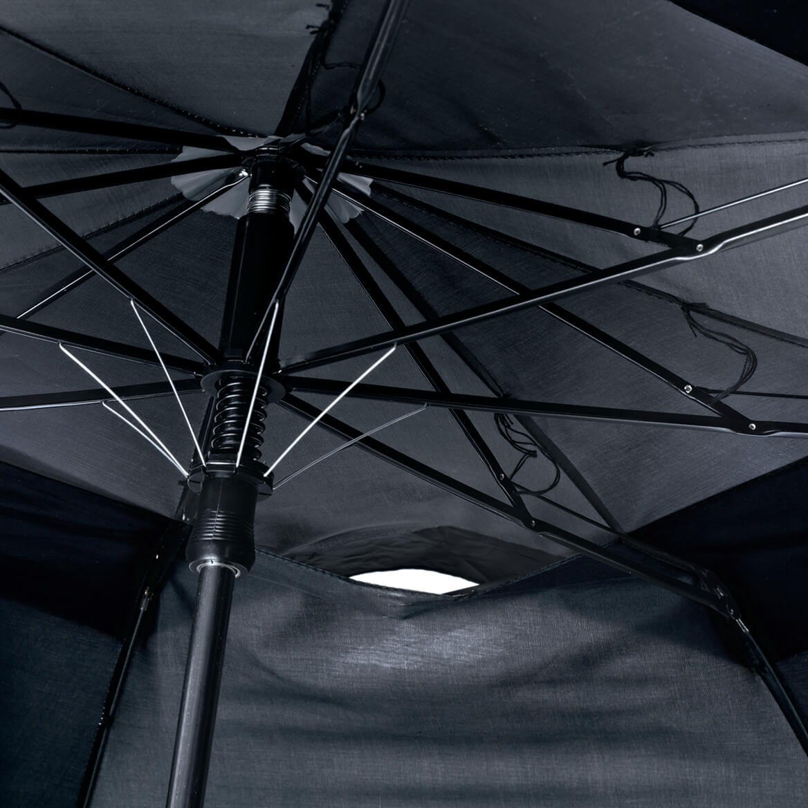 Black Windproof Umbrella-345771