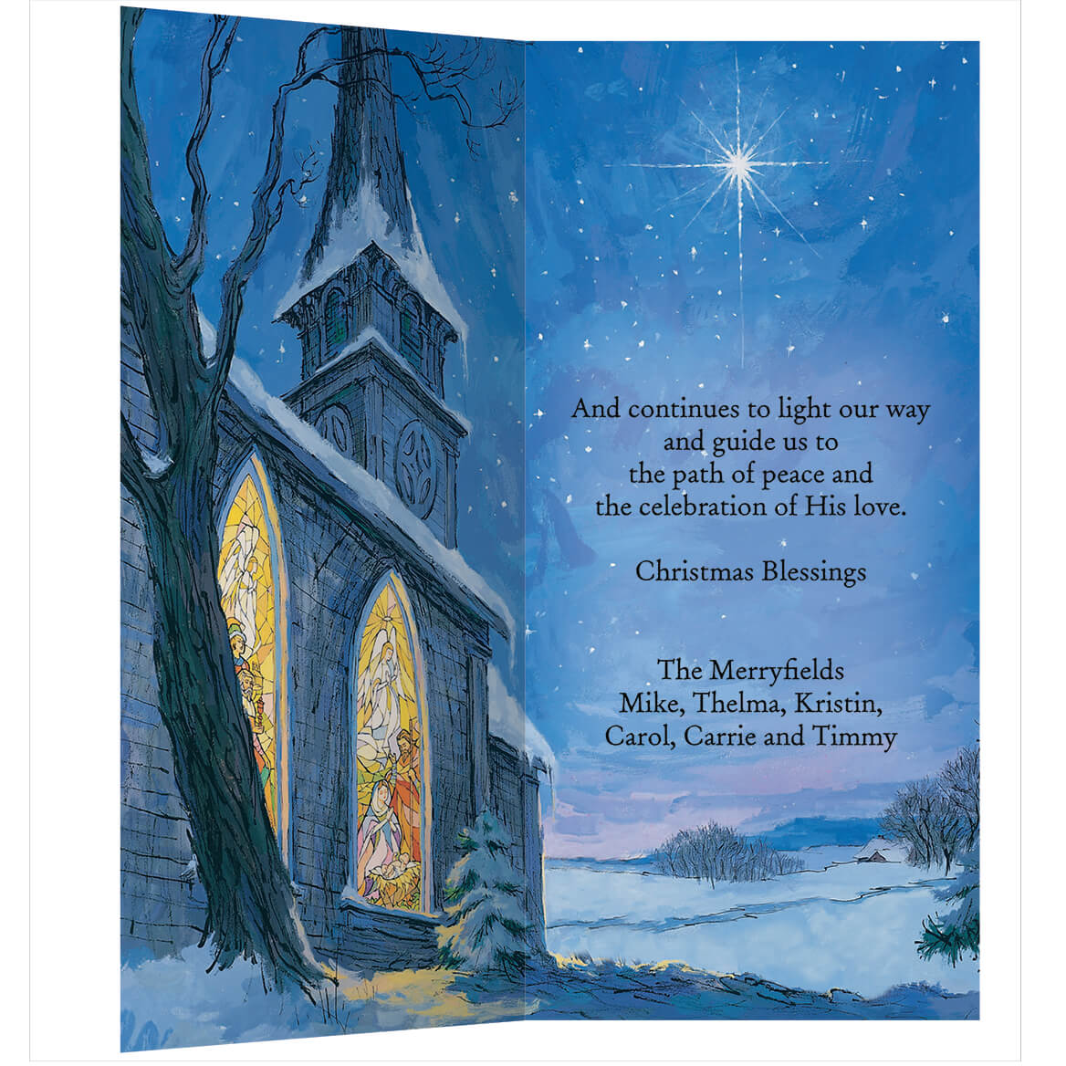 Personalized The Star Still Shines Christmas