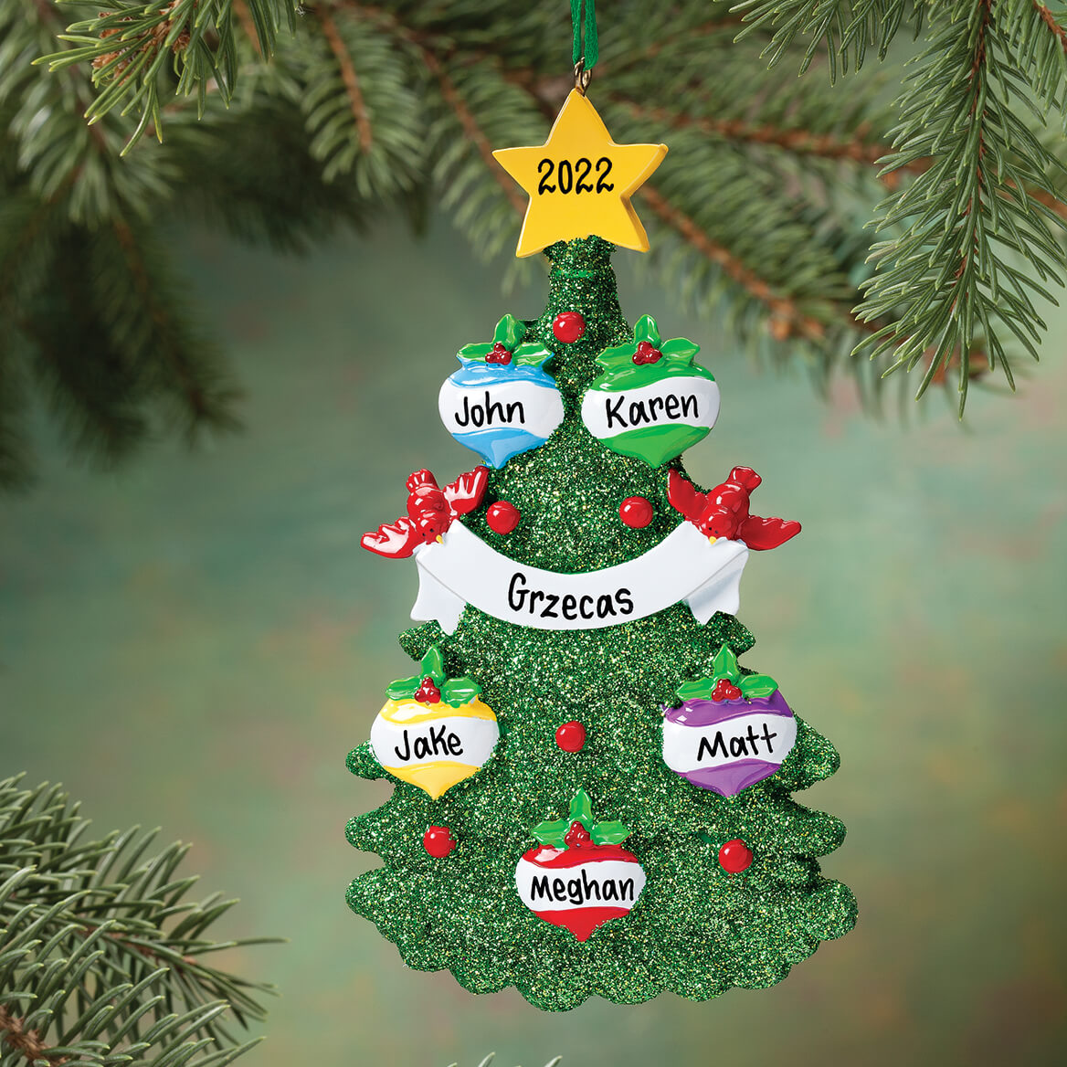 personalized christmas ornaments personalized tree ornament ornaments walter 11867