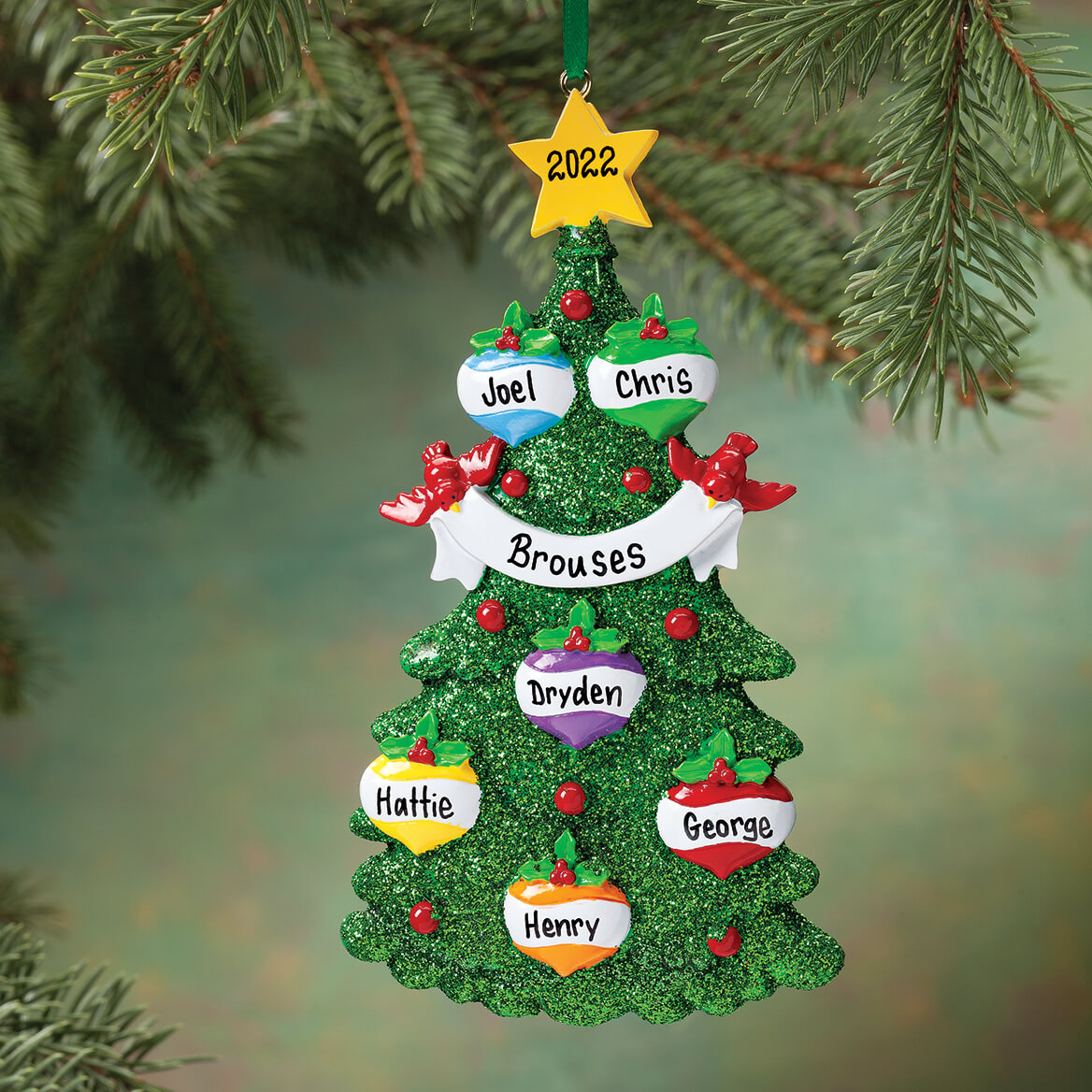 Personalized Christmas Tree Ornament-346137