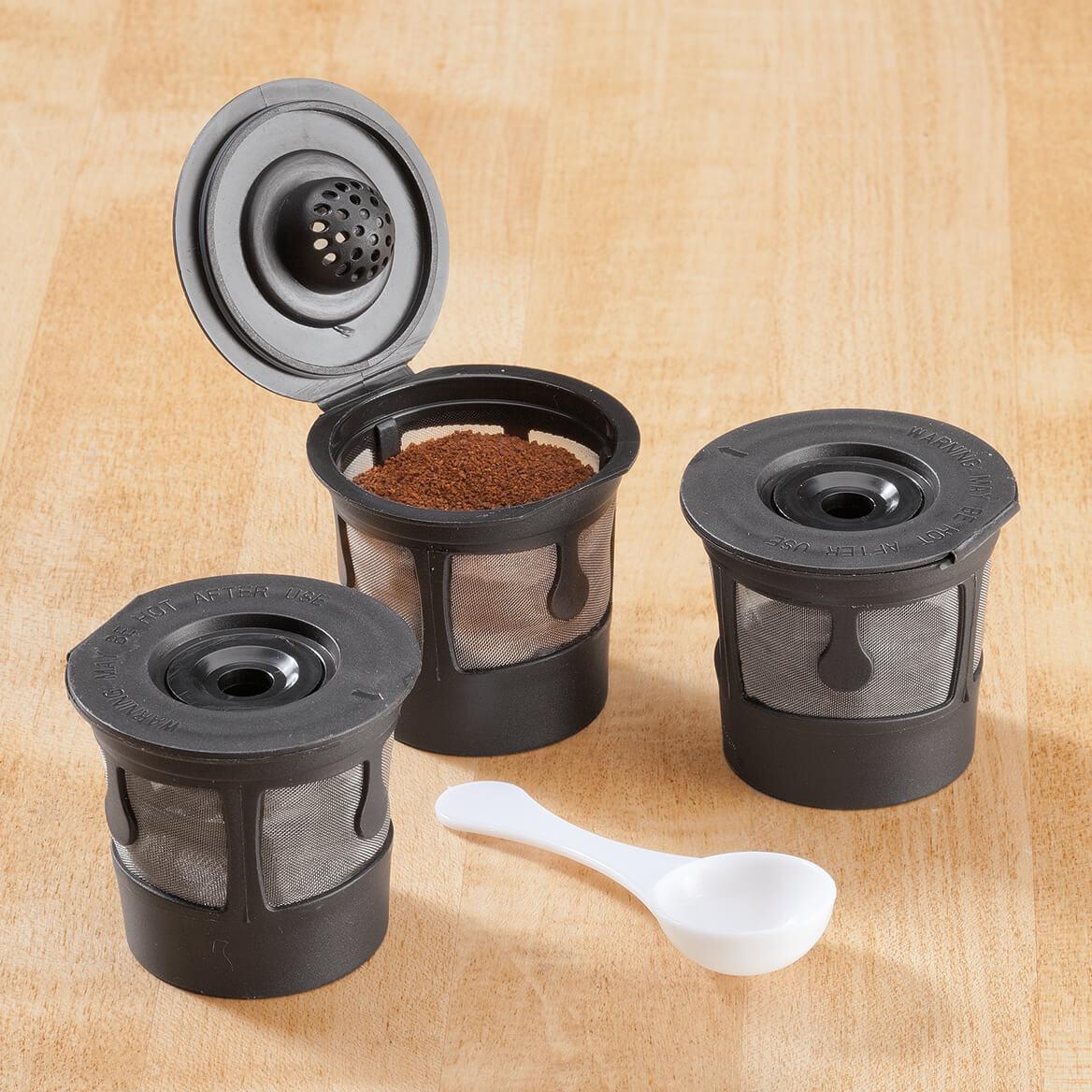 Single-Serve Reusable Coffee Filters, Set of 3-346495