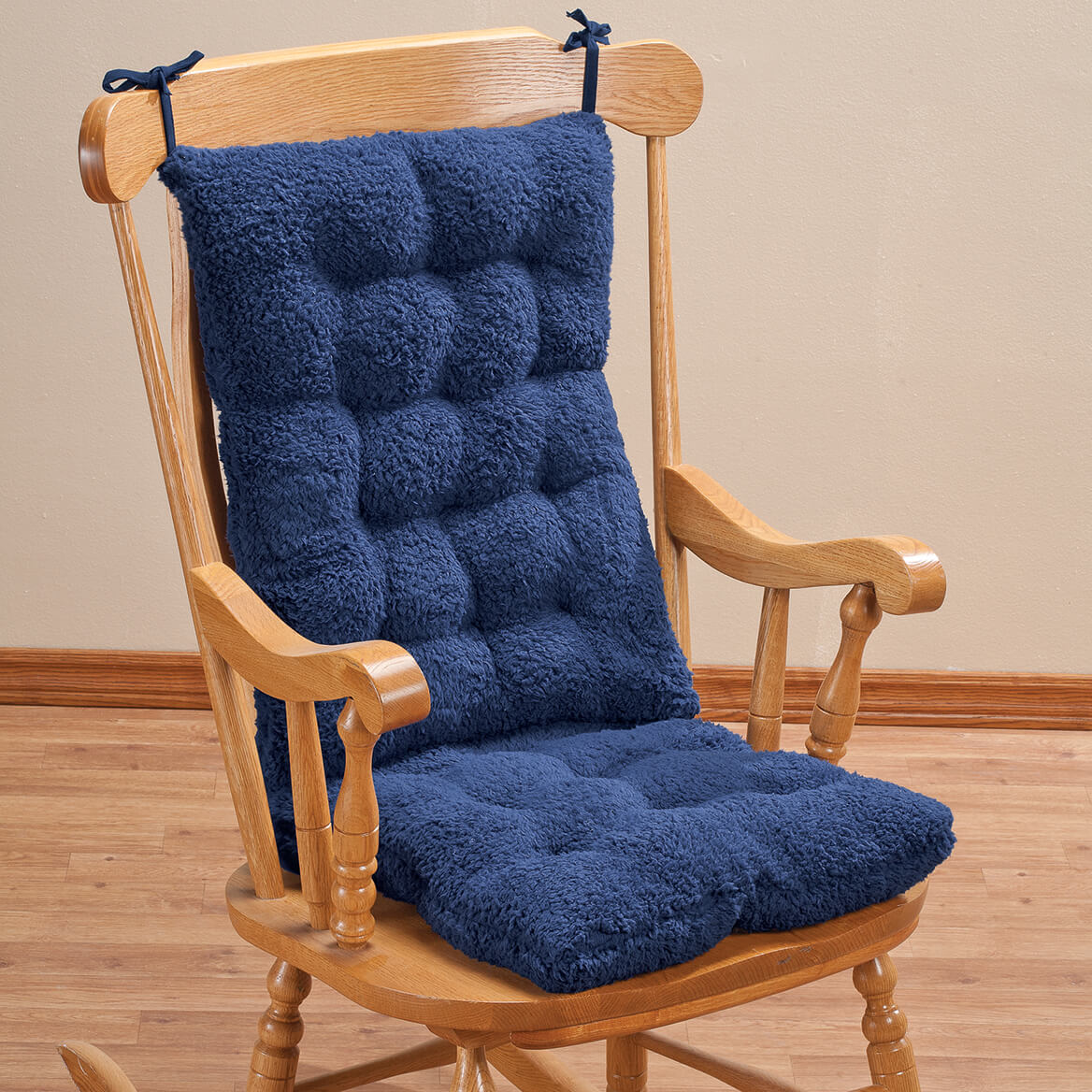 Superb Sherpa Rocking Chair Cushion Set By Oakridge Uwap Interior Chair Design Uwaporg