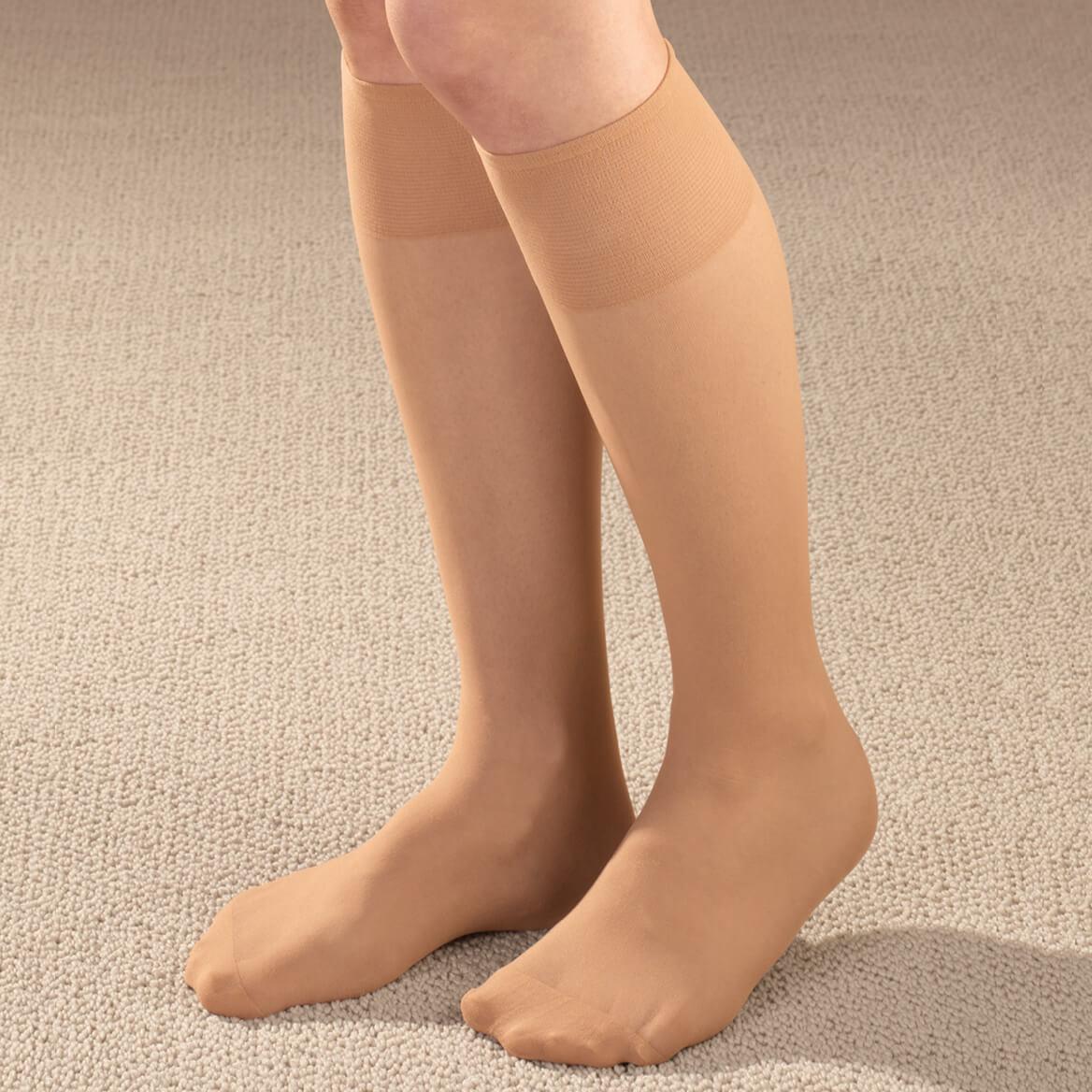 Diabetic Sheer Knee Highs 5 Pair-347565