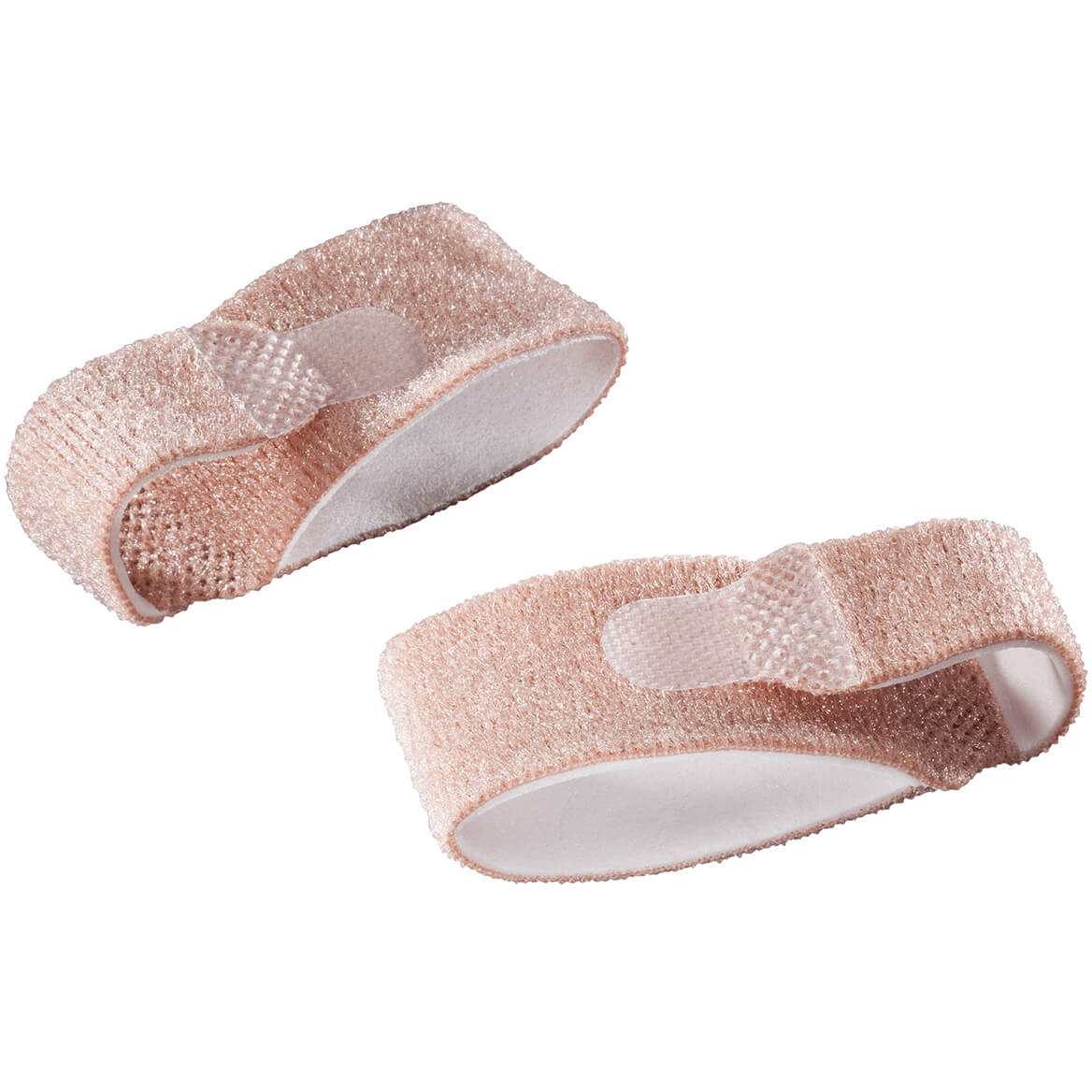 Silver Steps™ Toe Straightening Wraps, Set of 2-347965