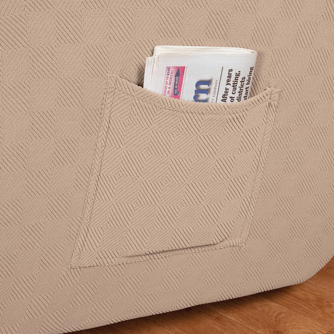 Newport Stretch Furniture Recliner Cover-350217