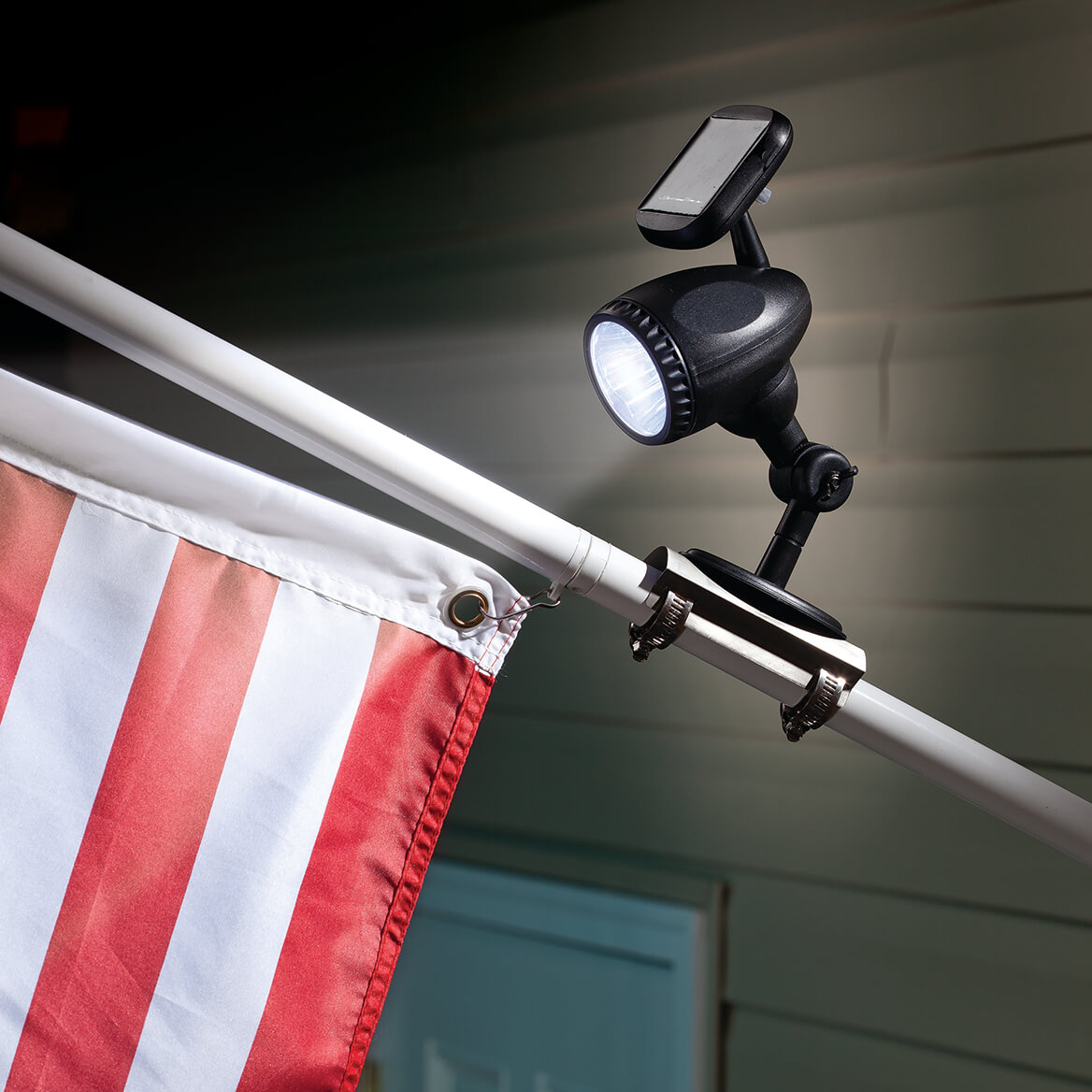 Solar Flag Pole Light-350773