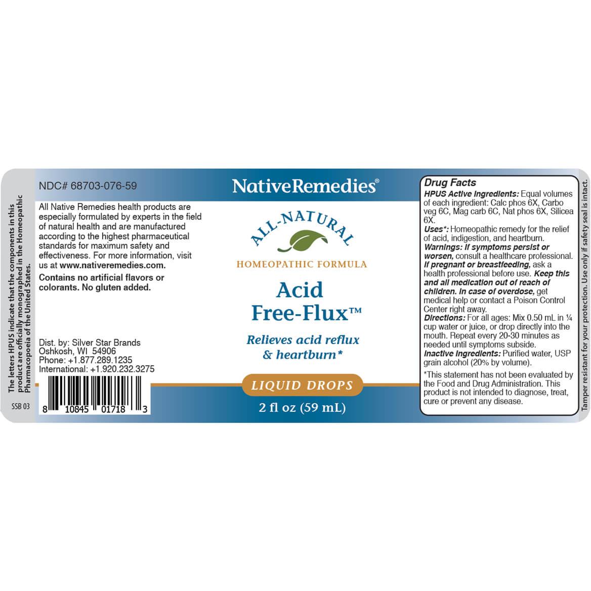 NativeRemedies® Acid Free-Flux™-351037