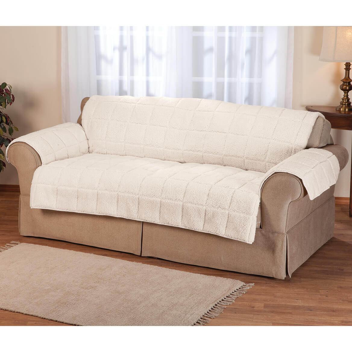 Waterproof Quilted Sherpa Loveseat Protector by OakRidge™-351695
