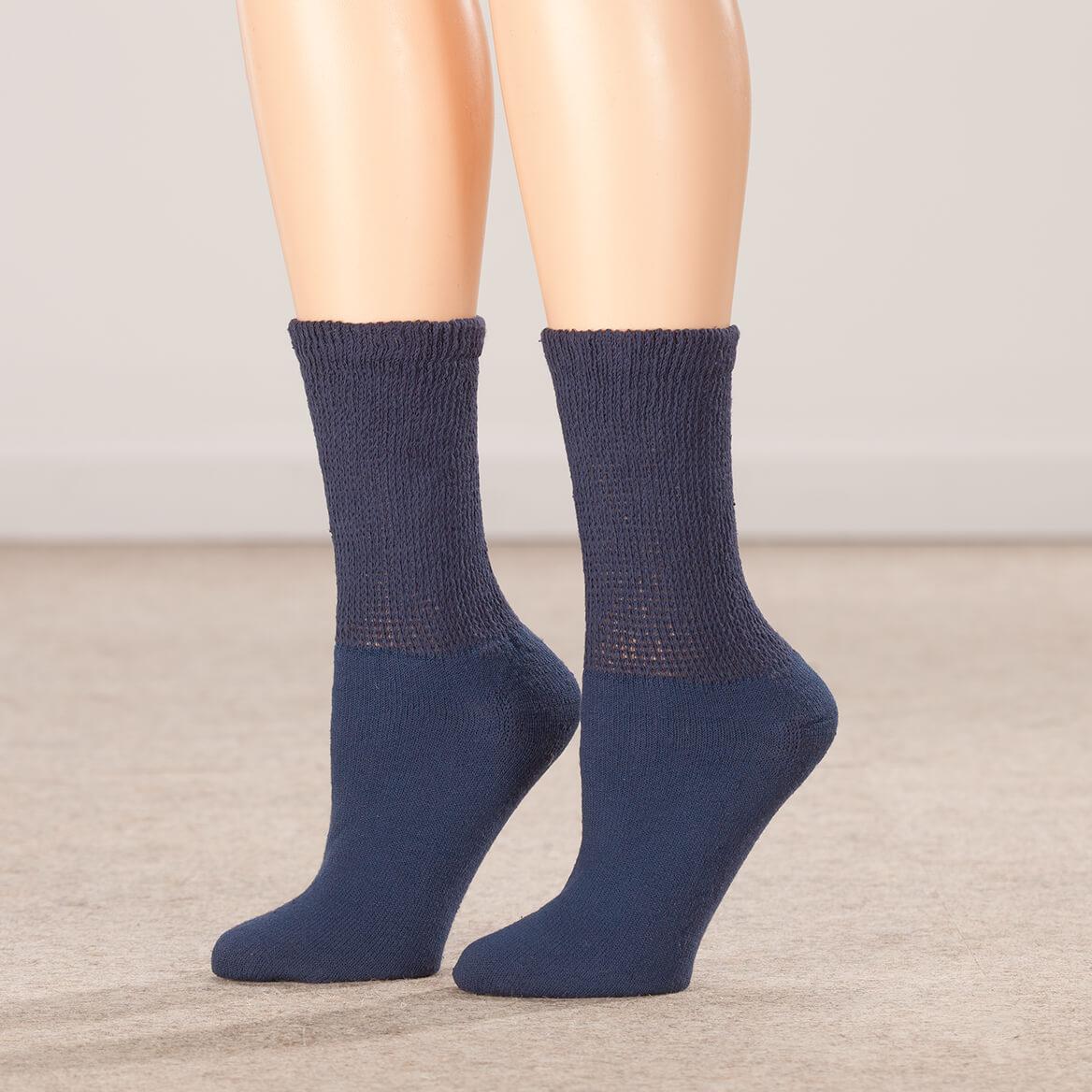 Silver Steps™ 3 Pack Diabetic Socks-351812
