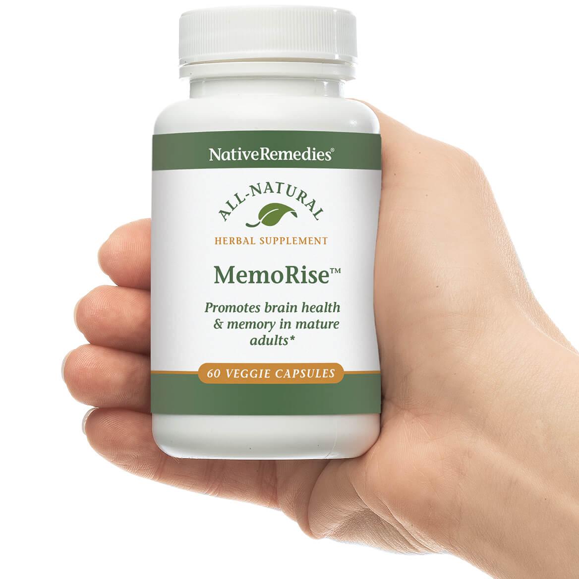 NativeRemedies® MemoRise™ - 60 Veggie Capsules-351922