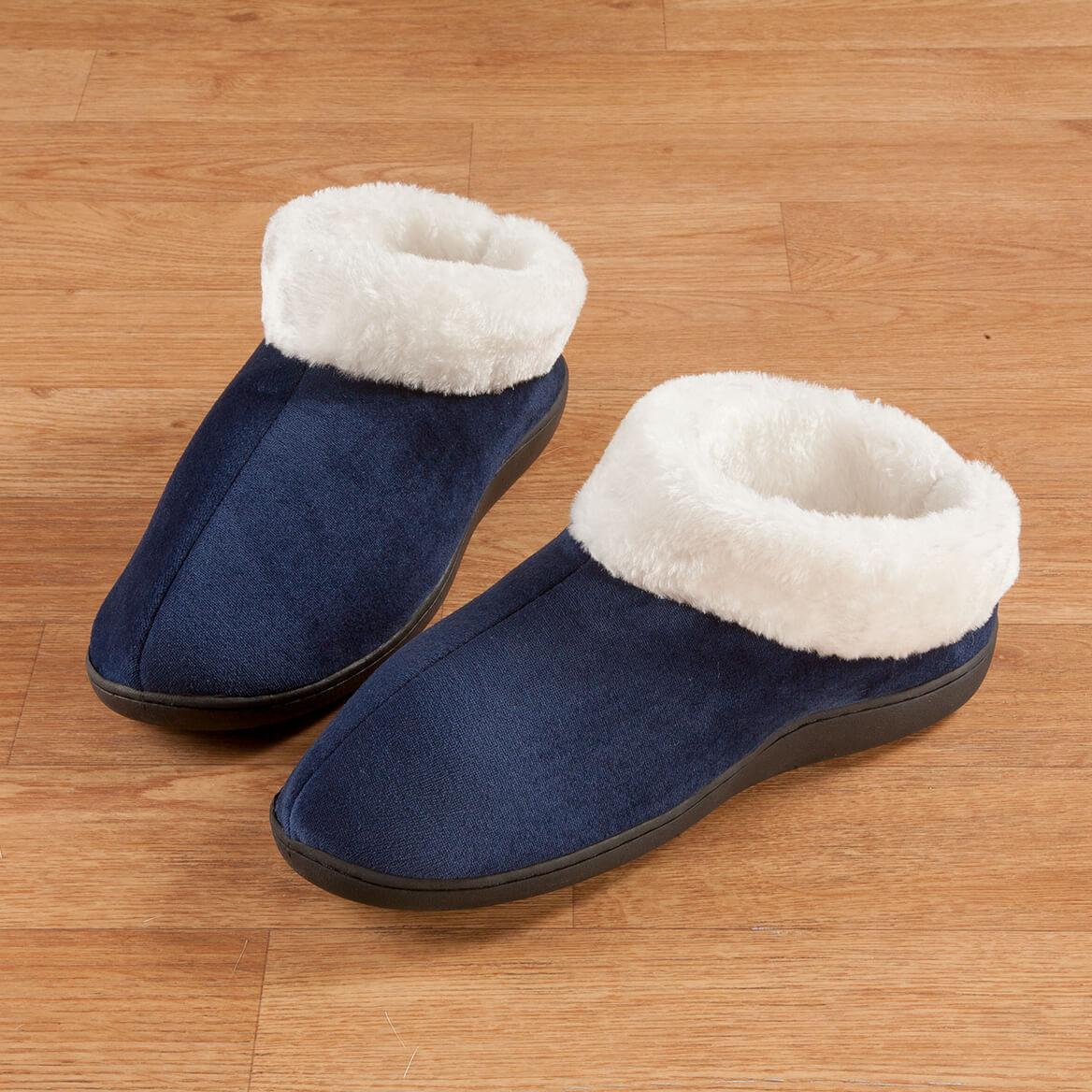 Easy Comforts Style™ Memory Foam Booties-352995