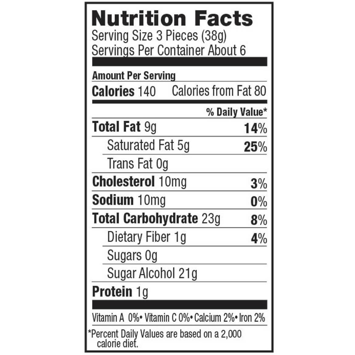 Sugar Free Almond Butter Toffee, 8.5 oz.-353365
