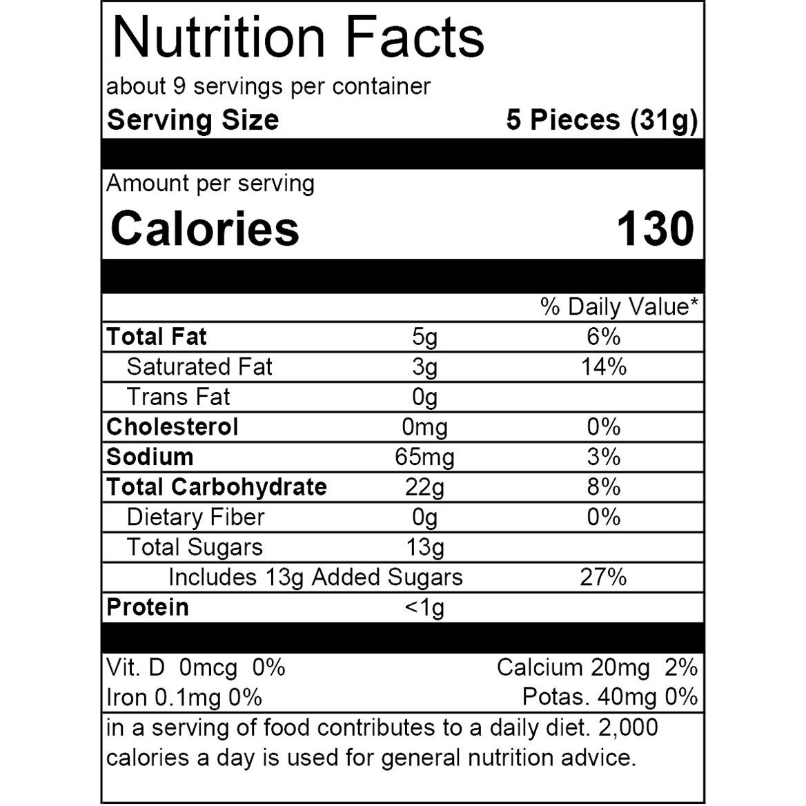 Toffee Assortment 10 oz.-353564