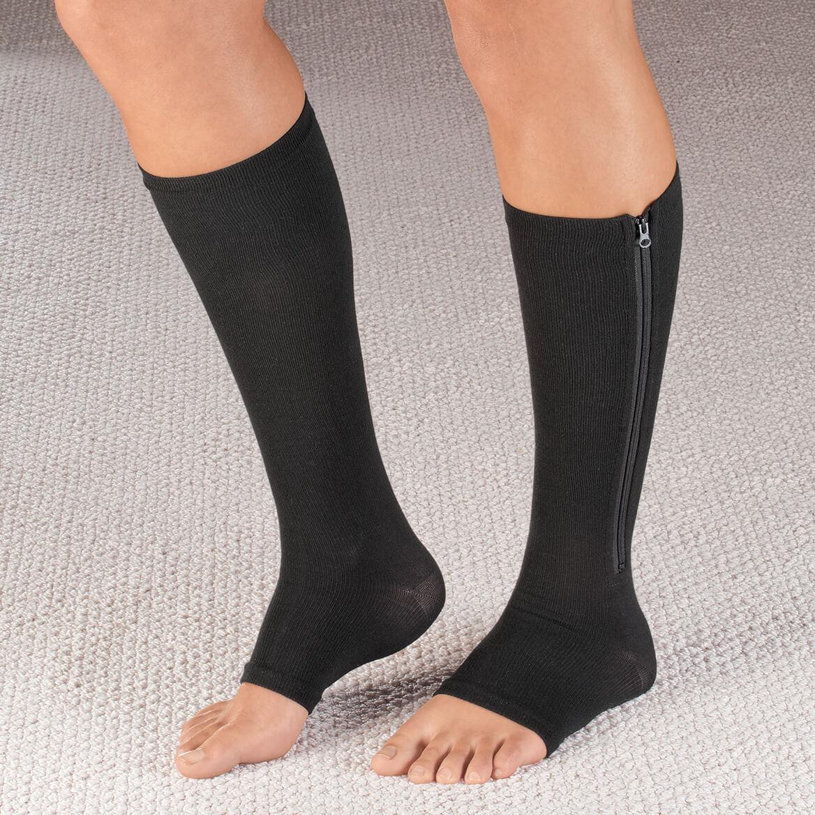 5c9b3c27e Magnetic Zipper Compression Socks-353654 Magnetic Zipper Compression Socks -353654