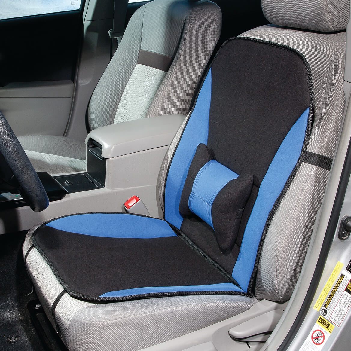 Memory Foam Car Seat Cushion Cover Velcromag