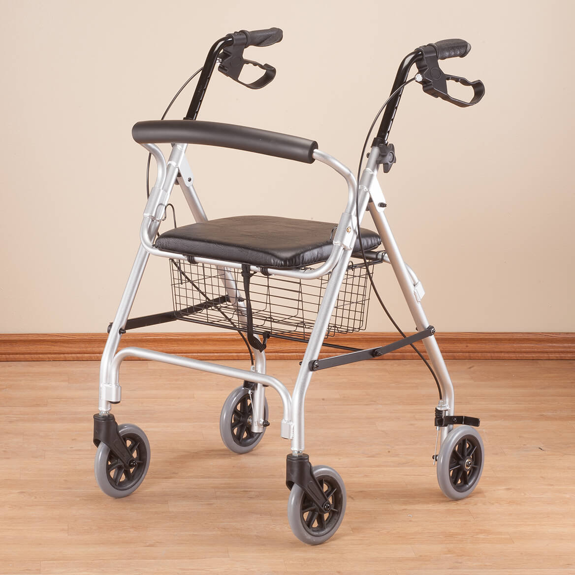 Aluminum Lite 4-Wheel Rollator             XL-354207