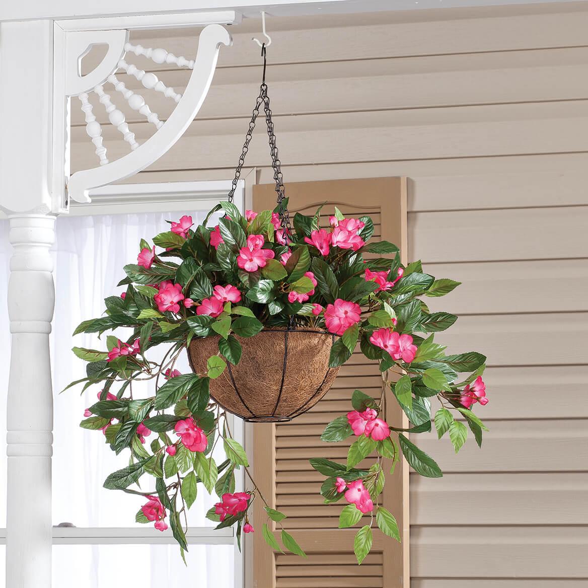 Fully Assembled Impatiens Hanging Basket by OakRidge™-355017