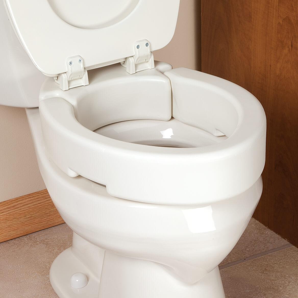 Hinged Toilet Seat Riser-355526