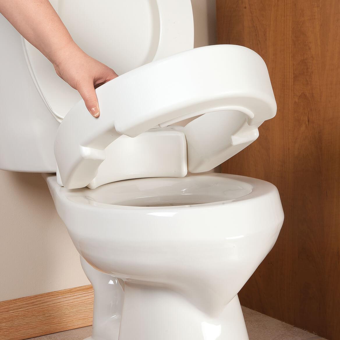 Surprising Hinged Toilet Seat Riser Uwap Interior Chair Design Uwaporg