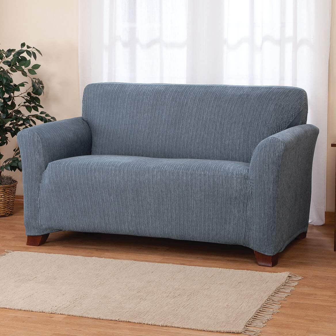 Wondrous Stretch Heather Sofa Cover Caraccident5 Cool Chair Designs And Ideas Caraccident5Info