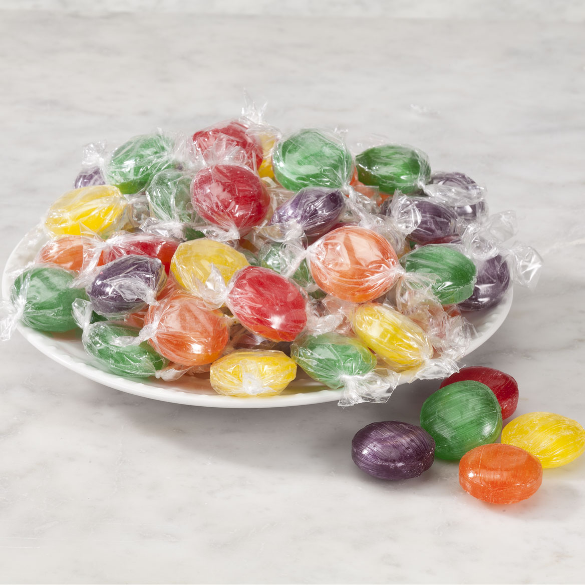 Assorted Fruit Button Hard Candies 19 oz.-356407